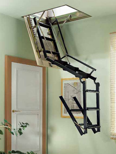 Loft Ladder For Small Hatch